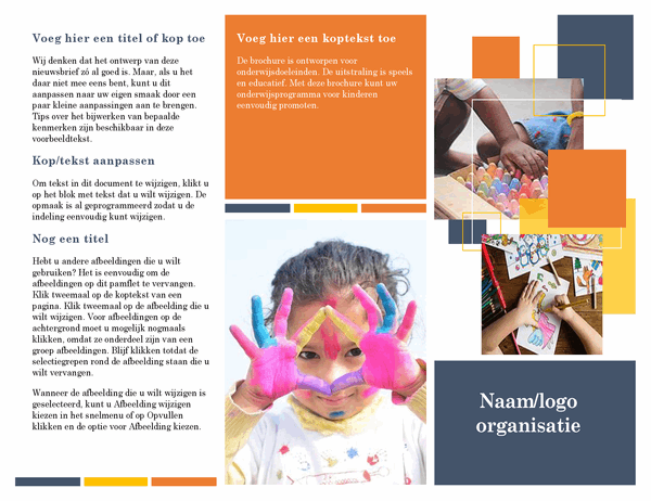 Educatieve brochure