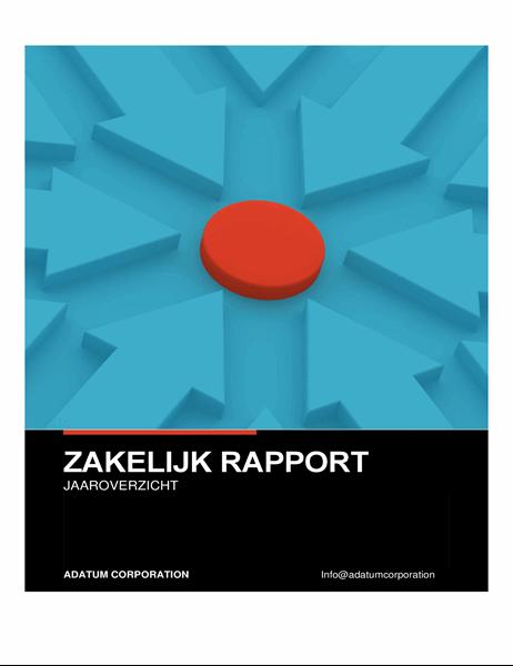 Krachtig zakelijk rapport