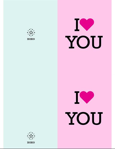 I heart you Valentijn