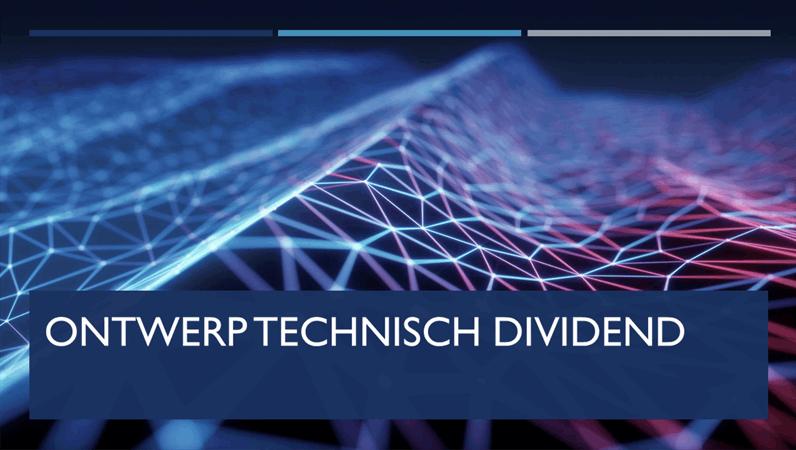 Ontwerp Technisch dividend