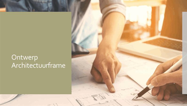 Ontwerp Architectuurframe