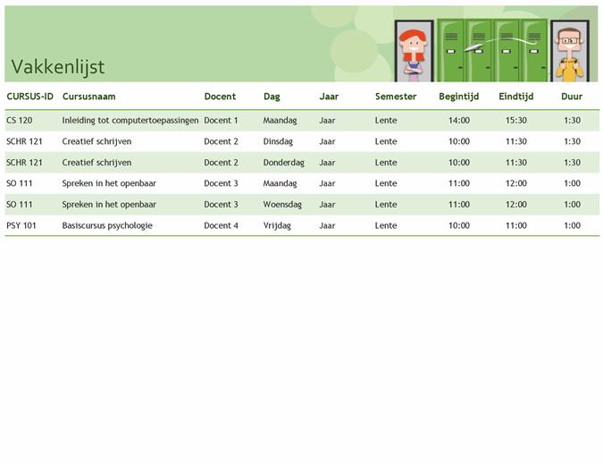 Semesterkalender