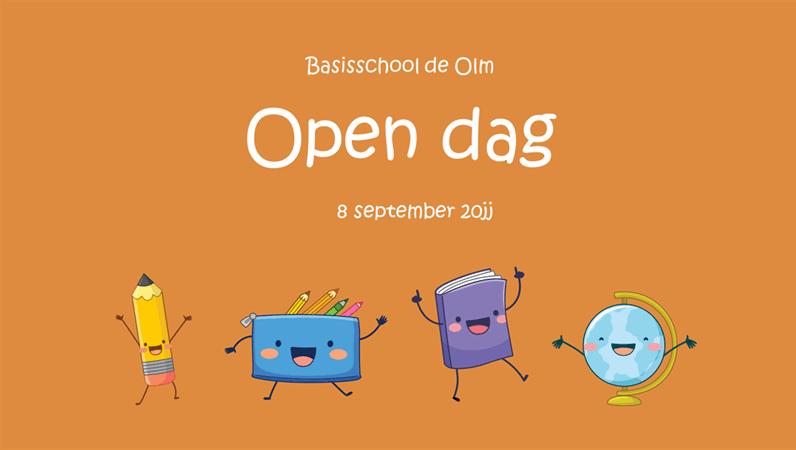 Presentatie voor een open dag