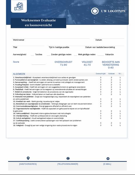 Werknemersbeoordeling en salarisherziening voor kleine bedrijven