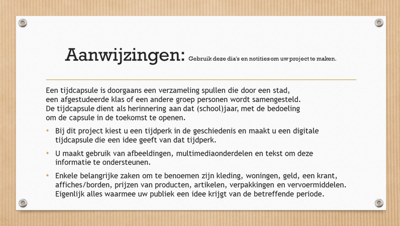 Digitale tijdcapsule