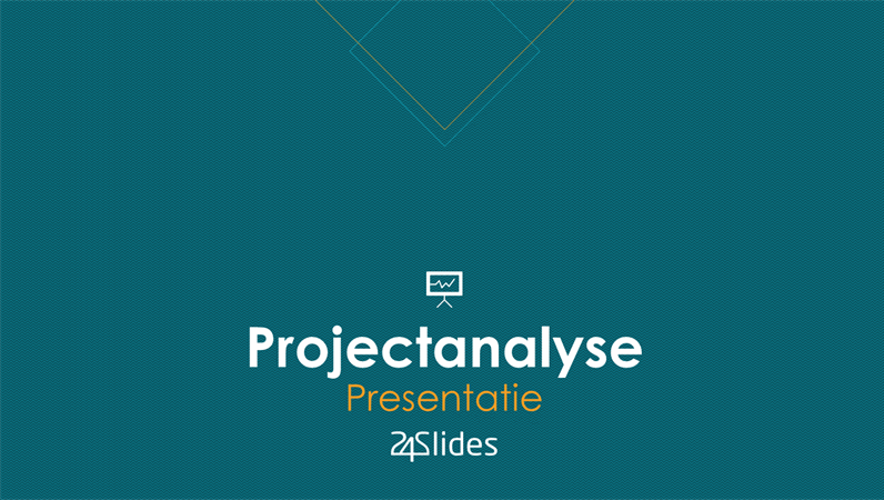 Projectanalyse uit 24Slides