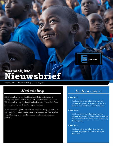 Nieuwsbrief non-profitorganisatie