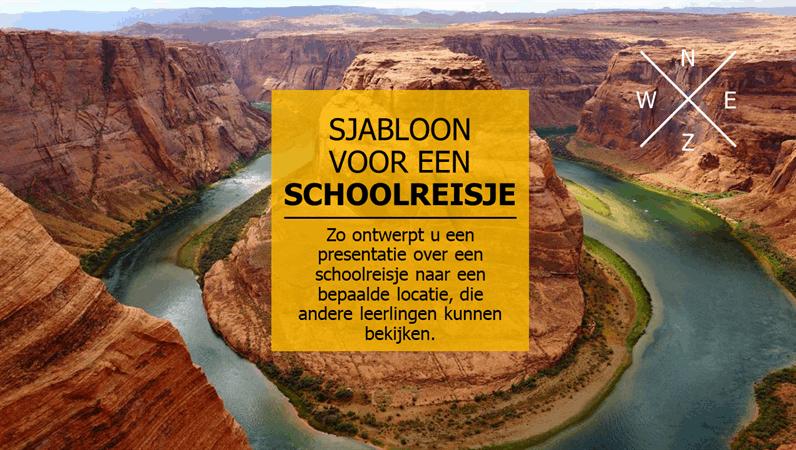 Visueel schoolreisje