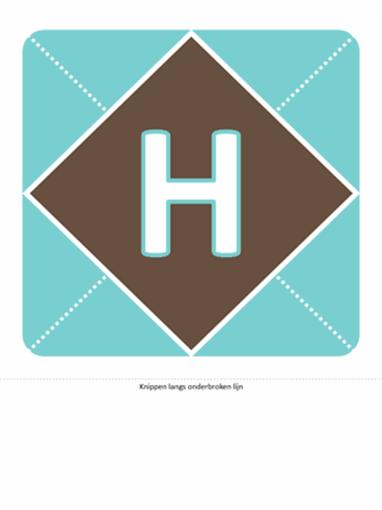 Hoera een jongetje-banner