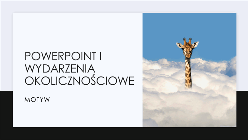PowerPoint i wydarzenia okolicznościowe