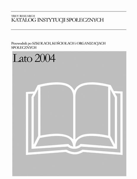 Katalog instytucji społecznych