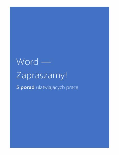 Word 2013 — Zapraszamy!