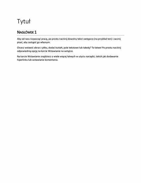 Projekt Raport (pusty)
