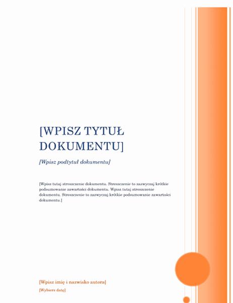 Raport (projekt Wykusz)