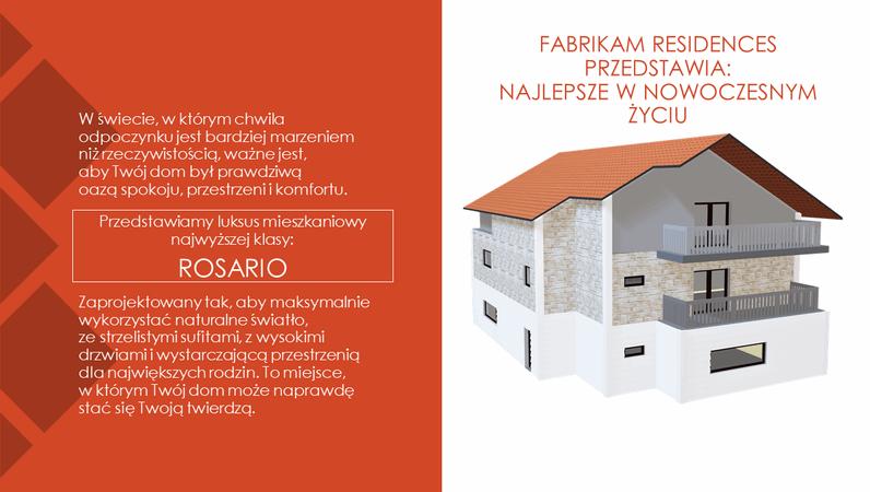 Rezydencje Fabrikam — najwyższy poziom nowoczesnego życia