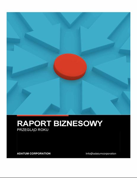 Pogrubiony raport biznesowy