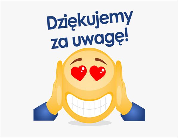 Karta z podziękowaniami emoji