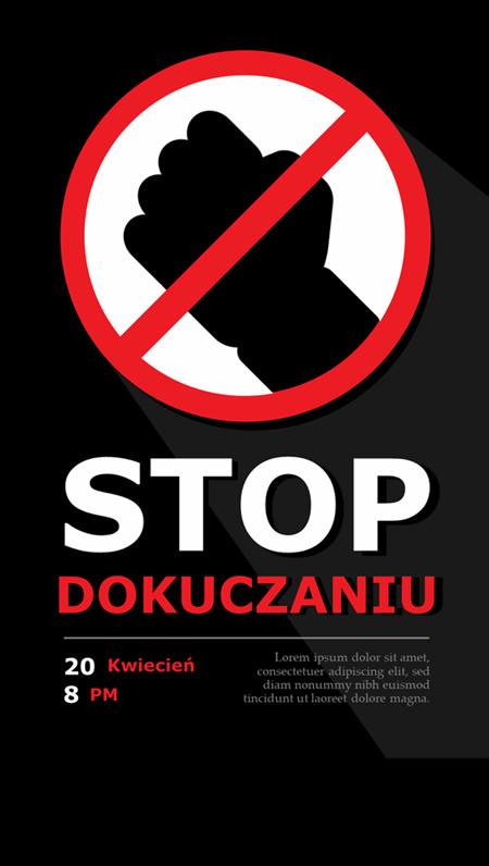 Plakaty wspierające