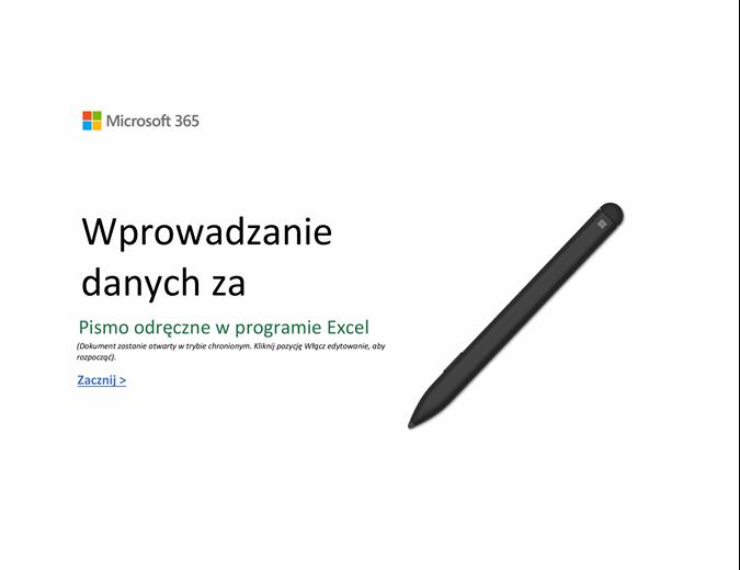Excel — Zapraszamy!