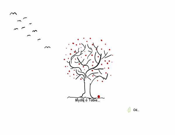 Karta współczucia drzewa