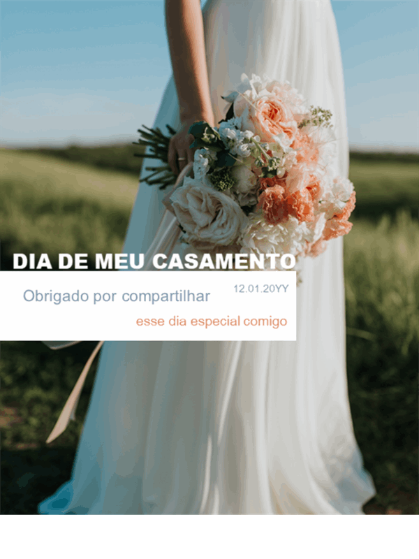 Vertical para eventos de vida no Instagram