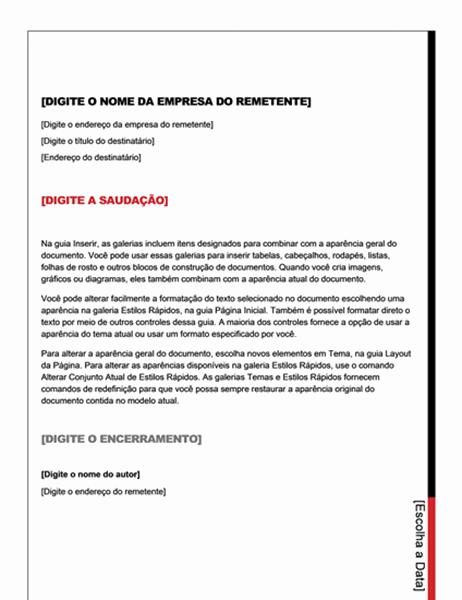 Carta (design Essencial)