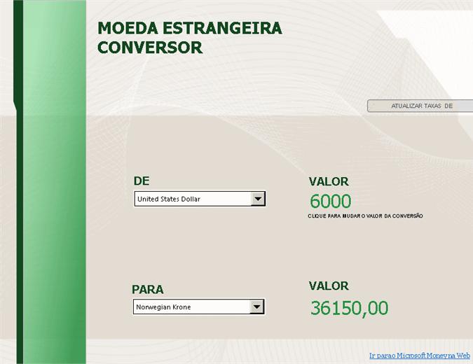 Conversor de moeda