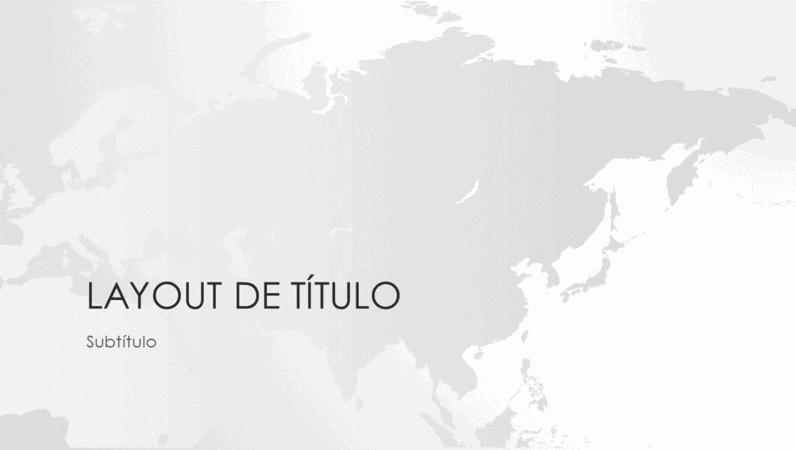 Série mapas-múndi: apresentação continente asiático (widescreen)