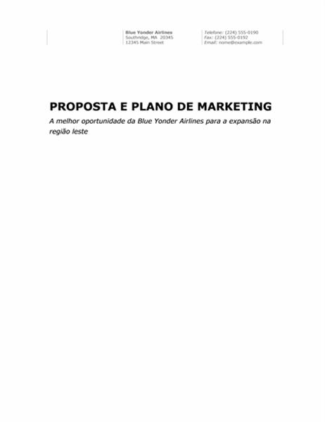 Relatório comercial (tema Profissional)