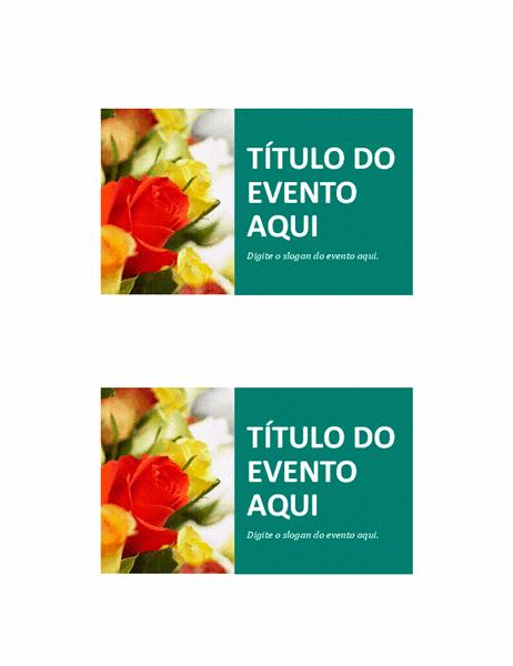 Cartões-postais de evento