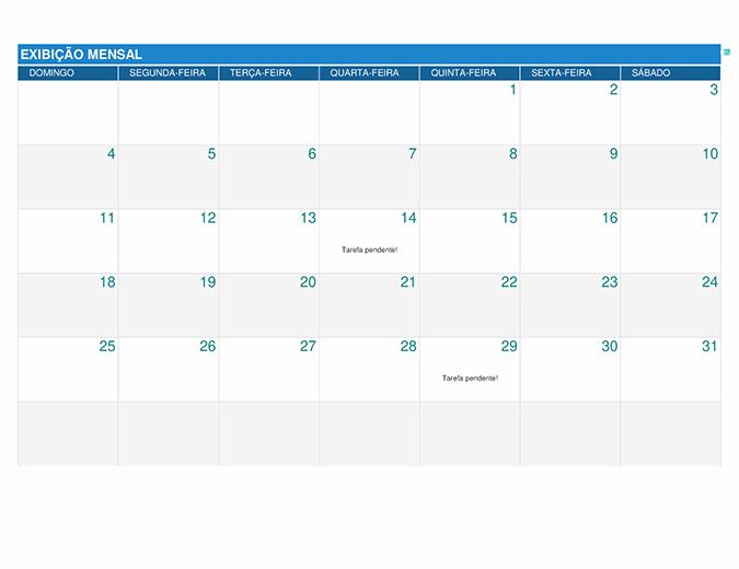 Planejador de tarefas do aluno