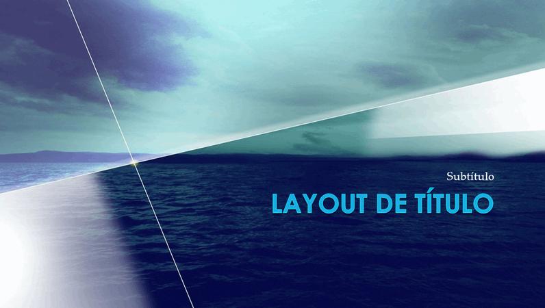 Slides de design de ponto de referência