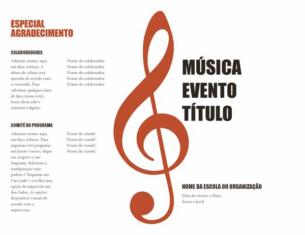 Programa musical