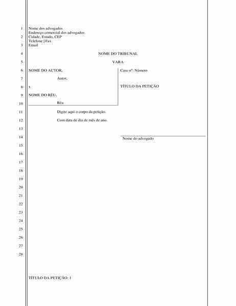 Documento processual (28 linhas)