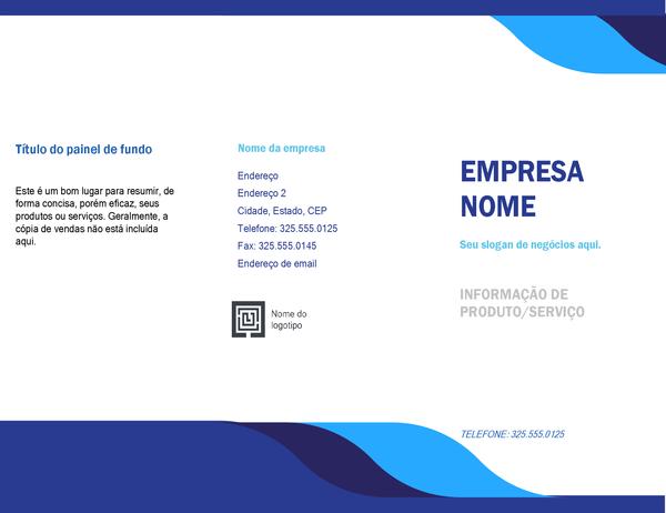 Folheto de negócios (design de níveis)