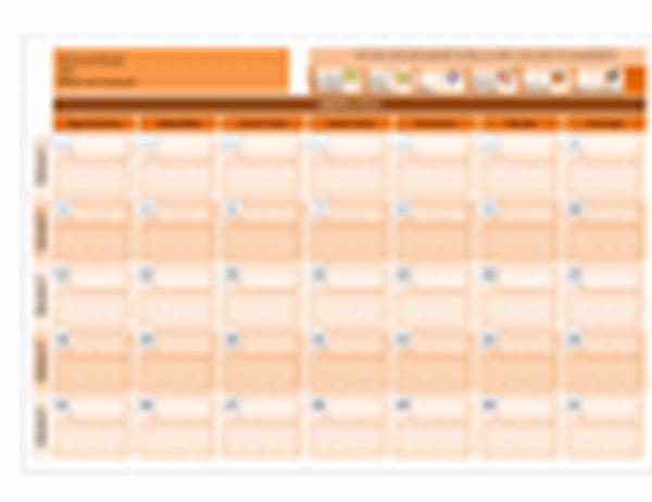 Calendário de classe