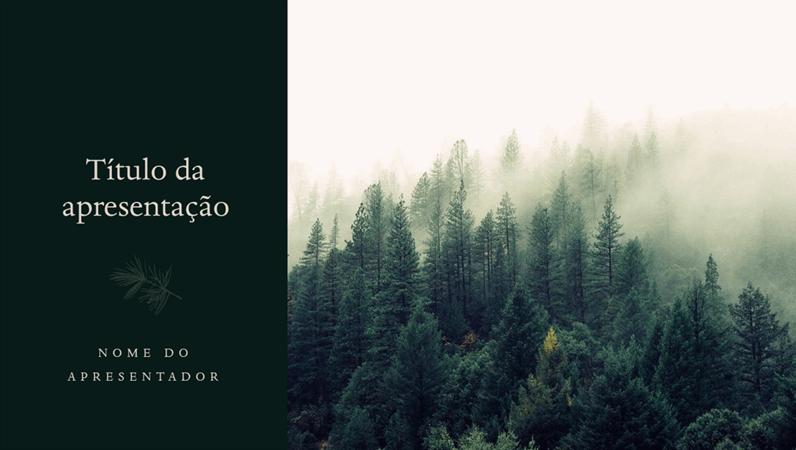 Design de pinheiro
