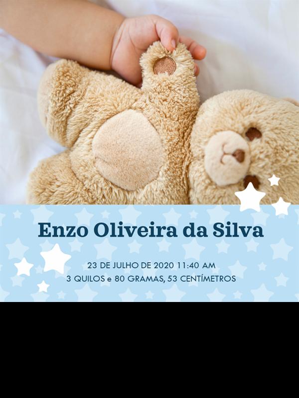 Livro de memórias do bebê
