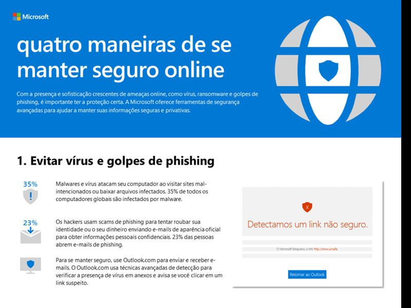 4 maneiras de se manter seguro online