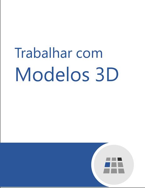 Como trabalhar com modelos 3D no Word