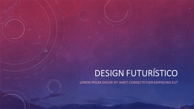 Design celestial futuro