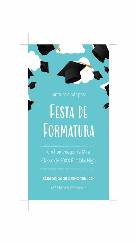 Convites para formatura