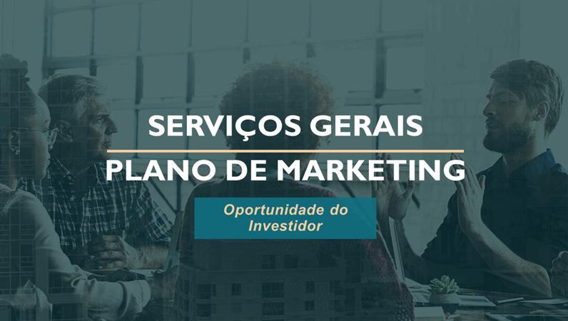 Plano de marketing para serviços profissionais
