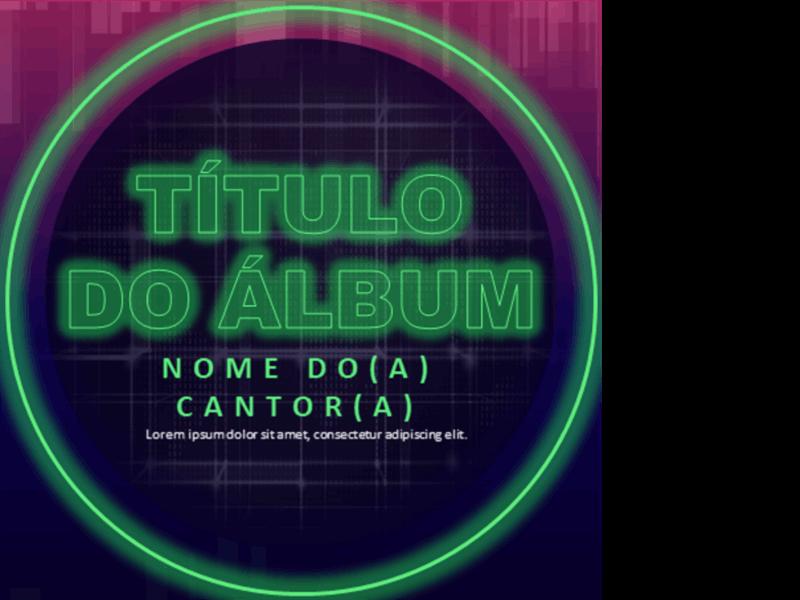 Capas de álbuns de EDM (Electronic Dance Music)