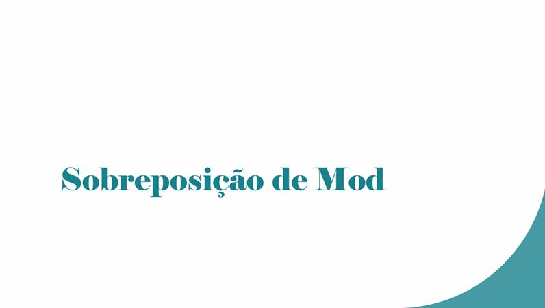 Sobreposição de Mod