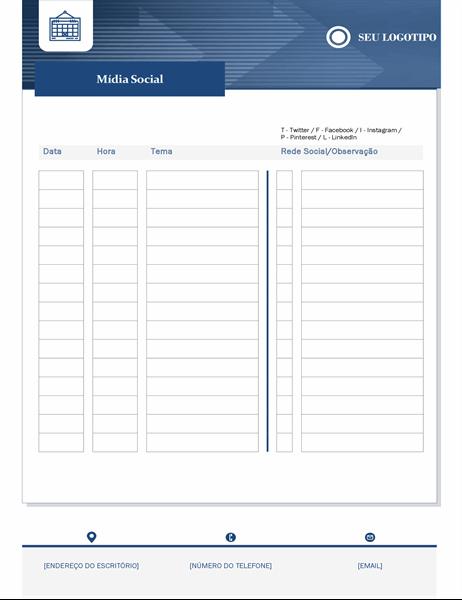 Calendário de conteúdo para pequenas empresas