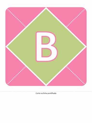 Faixa - Bem-vinda, Bebê (rosa, violeta, verde)