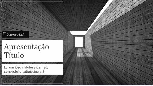 Apresentação da arquitetura