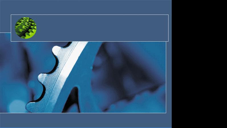Modelo de apresentação Engrenagem