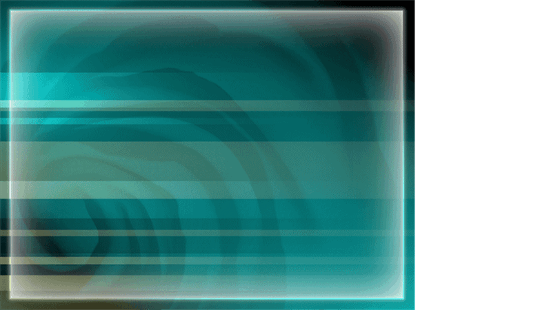 Modelo de apresentação Caverna azul e verde